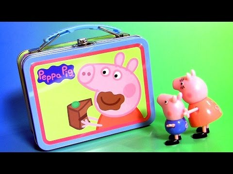 Peppa Pig Lunchbox Surprise With Chupa Chups Masha Paw Patrol Mickey Scuba Mater