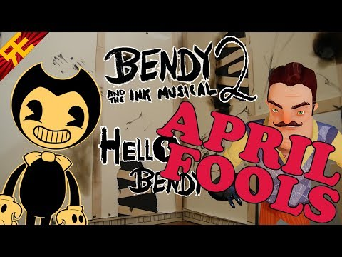 BENDY AND THE INK MUSICAL Chapter 2: Hello, Bendy! [APRIL FOOLS]