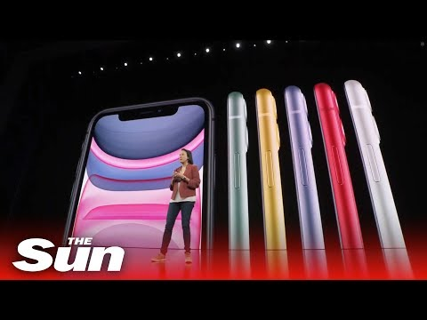 Apple launches iPhone 11