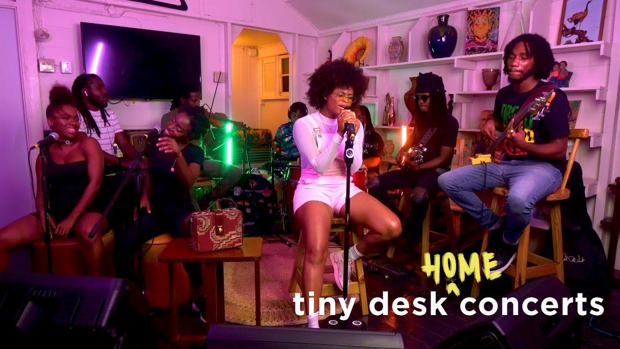 Lila Iké, Tiny Desk (Home) Concert.