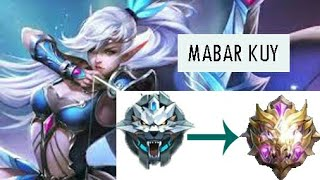 Main mobile legend pakai bahasa banjar!  BEBUNGULAN epic comeback! gameplay miya sanak