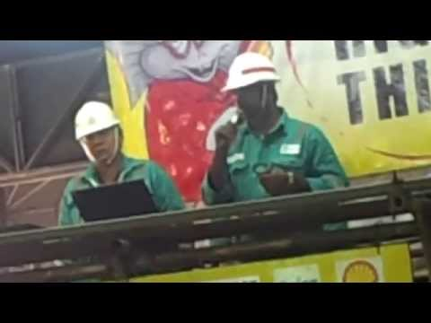 GUMUSUT KAKAP Santhanam  & Ajmal safety talk Yard Activity Completion