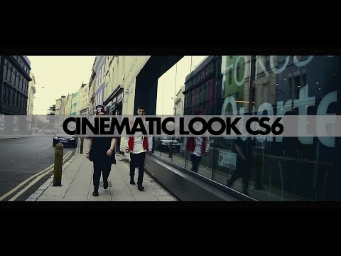 Cinematic look QUICK! - Premiere Pro CS6