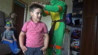 Черепашка ниндзя: знакомство с детьми