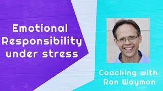 Emotional Responsibility with Habits and Patterns