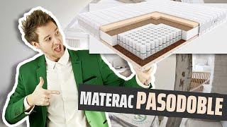 Materac Kieszeniowy Pasodoble Hilding 80x200, 90x200, 100x200, 120x200, 140x200, 160x200, 180x200 CM