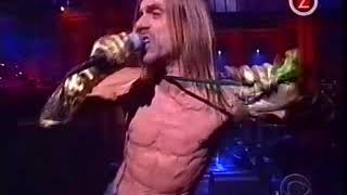 Iggy Pop Mask from Late show with David Letterman 2 aug 2001