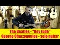 Hey Jude - The Beatles Guitar cover George Chatzopoulos