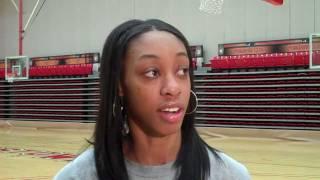 Melissa Thompson Previews Valpo, Butler | YSU Women's Basketball | Jan. 30, 2012