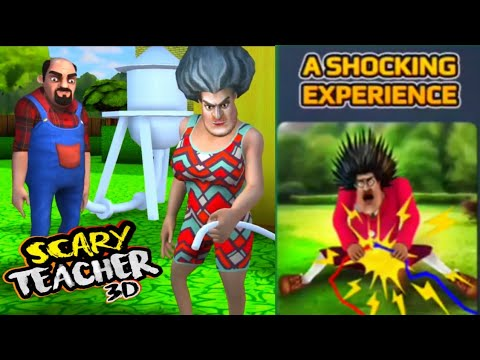 SCARY TEACHER 3D - A Shocking Experience-Fun In The Sun [Android - ios] Gameplay