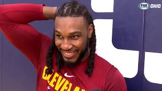Jae Crowder on joining the Cavs family