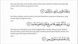 Surah Yasin (Bacaan dan Terjemahan).flv