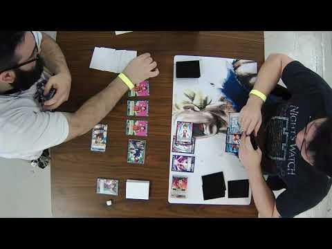 Dragon Ball Super TCG BCC Battles Vol 2 123017 Round 1 Stephen Tate vs Cade Gammon