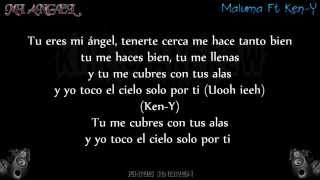 Mi Angel - Maluma Ft Ken-Y (Letra) 2015
