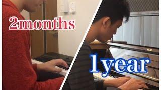 ピアノ大人初心者、一年間の道のり thumbnail