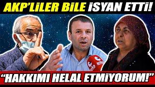 Ankarada AKPye oy verenler bile isyan etti \Hakkımı helal etmiyorum\