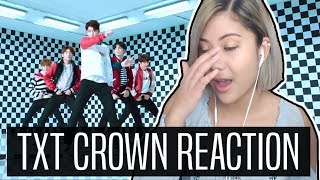 TXT CROWN REACTION | Wait, what?! | (투모로우바이투게더)