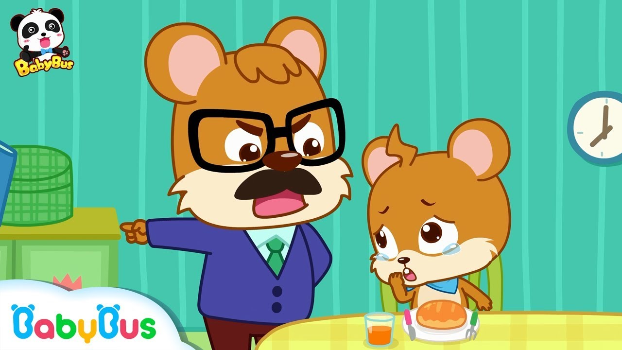 Download Whiskers Doesn't Want to Brush His Teeth | Good Habits | Picture Book Animation for Kids | BabyBus