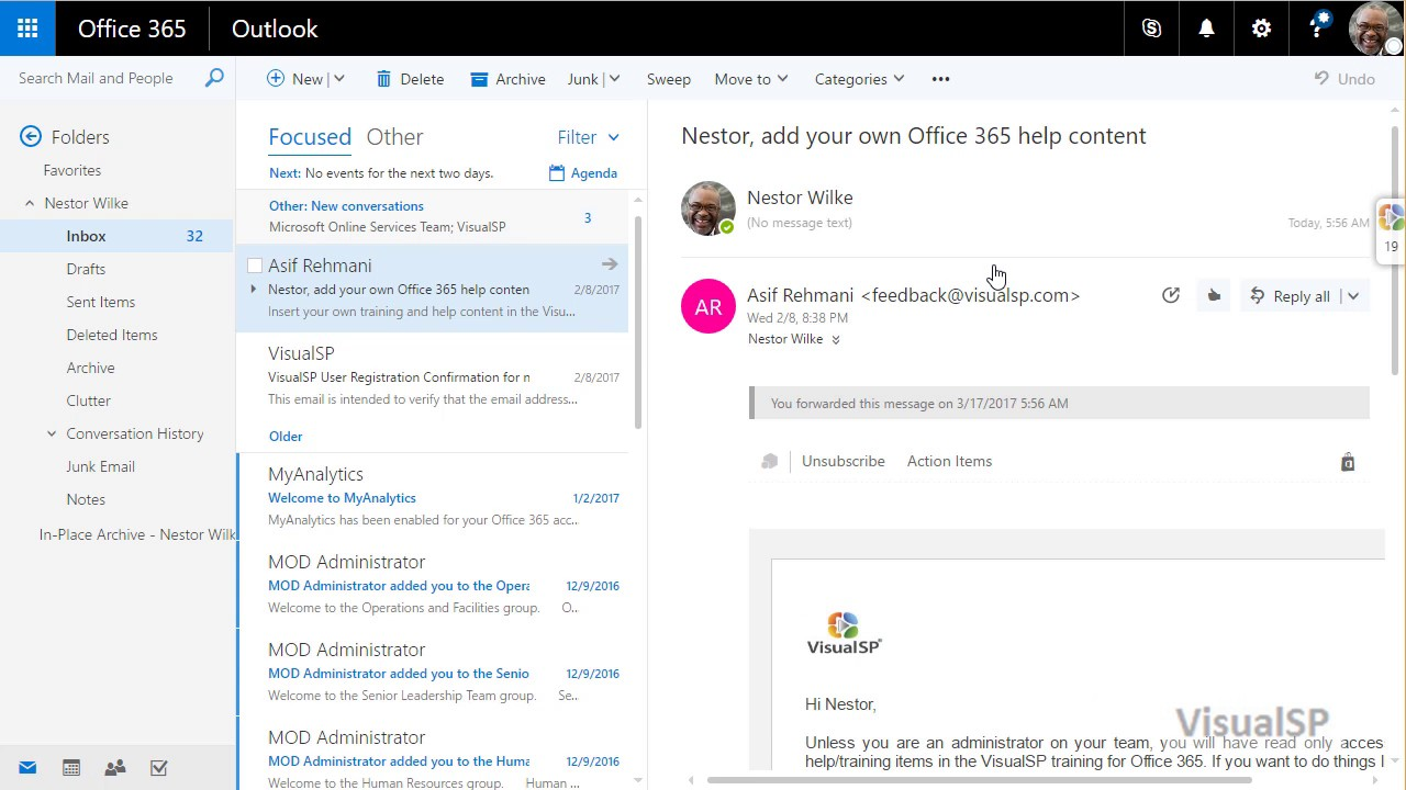 Sending Emails to Channels in Microsoft Teams