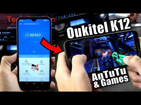 Oukitel K12 Performance Test Benchmarks Games