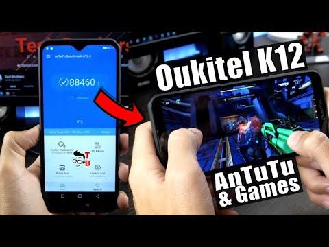 Oukitel K12 Performance Test Benchmarks Games