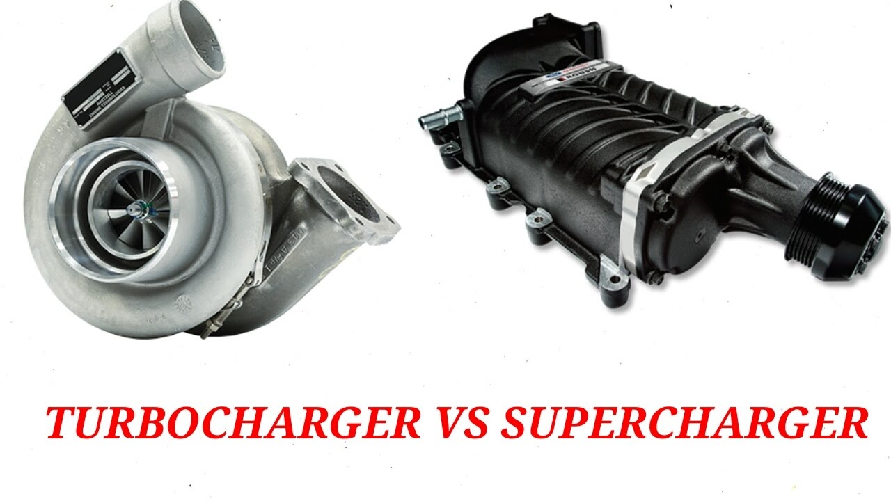 supercharger vs turbocharger