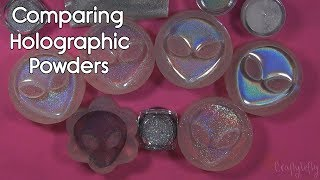 Comparing CHEAP Holographic Powders