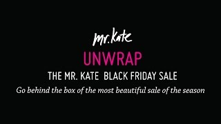 Unwrap The Mr. Kate Black Friday Sale | Teaser | Fashion Video | Mr Kate