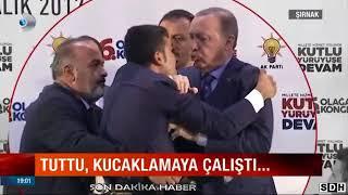 Erdoğan'ın Konuşma Esnasında Sahneye Fırlayan Genç Kanal D'ye Konuştu!