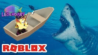ROBLOX INDONESiA | I DAPET LEGENDARY FiSH From The SEA WATER Froth 😍