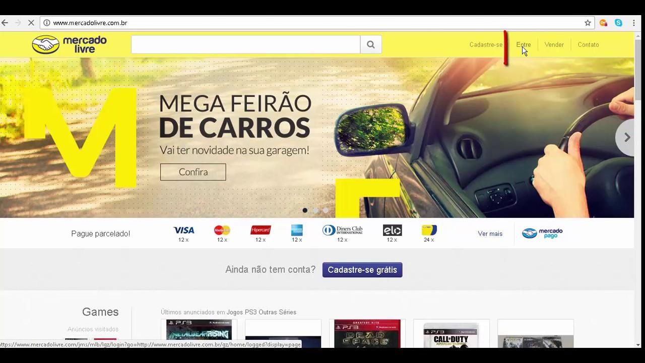 Como retirar o cartão de credito do mercado livre - YouTube