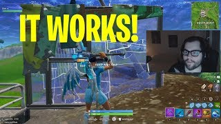 Dakotaz shows FAST EDIT PRO SECRET - Console Command Epic Games Fortnite Game
