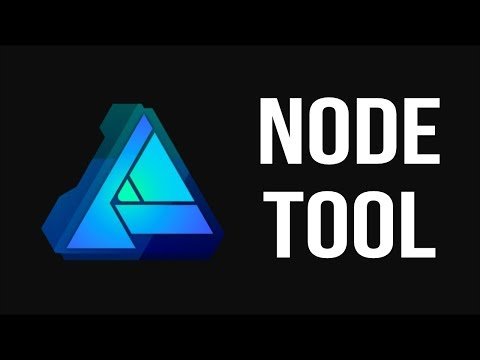 EVERY Node Tool Shortcut - Affinity Designer 2 Minute Tip!