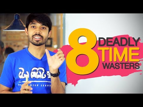 8 Deadly Time Wasters | Ayman Sadiq