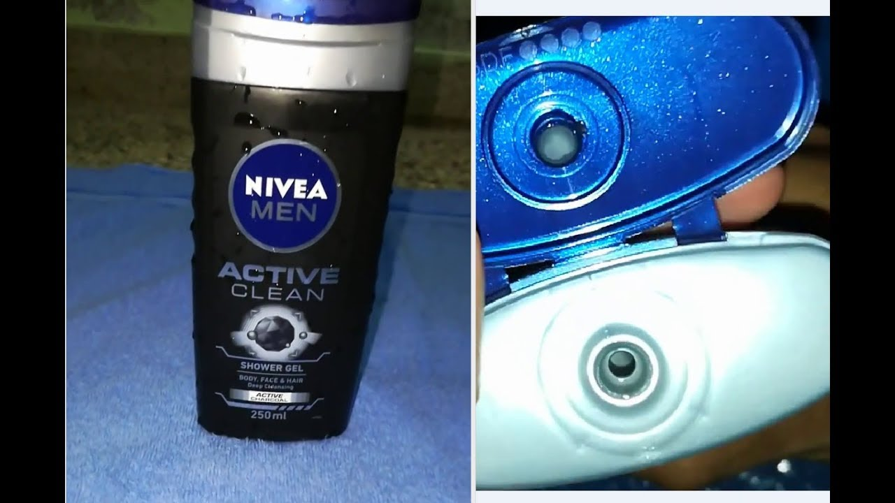 Nivea Men Active Clean Shower Gel // Active CHARCOAL