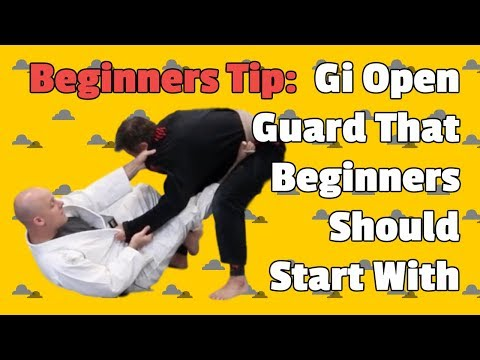 Beginner BJJ: A Gi Open Guard That Beginners Should Start With by Jason Scully