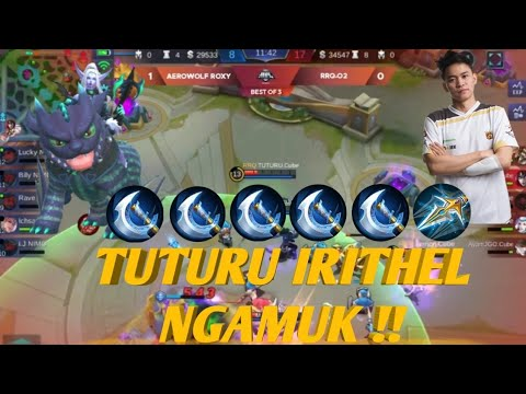 Tuturu Ngamuk !! RRQ vs AEROWOLF match 2 MPL season 2 - Mobile Legends Bang Bang-MSC 2018