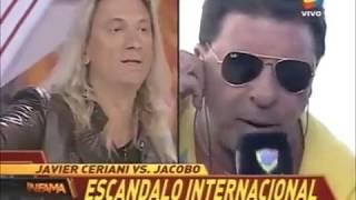El ataque de furia de Jacobo Winograd en Infama  junto a indy