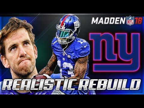 Rebuilding The New York Giants | Oh Boy.... | Madden 18 Connected Franchise