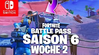 🔴 GEHEIMER Battle Pass Banner! SEASON 6 Herausforderung Woche 2 | Fortnite Switch Deutsch