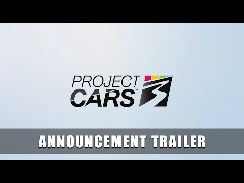 PROJECT CARS 3 – Announcement Trailer