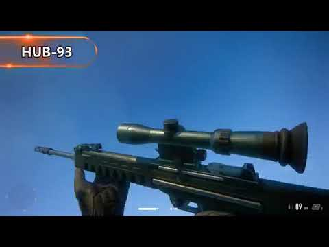 Sniper Ghost Warrior Contracts ALL Weapons Showcase |
