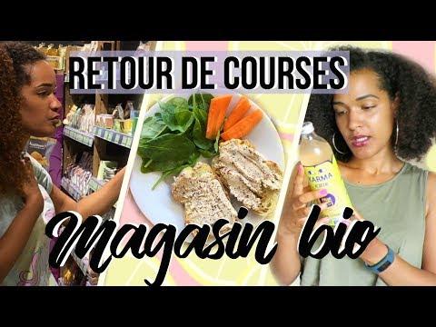 [FOOD HAUL #2] CE QU'ON ACHÈTE EN MAGASIN BIO + 2 RECETTES 🌿