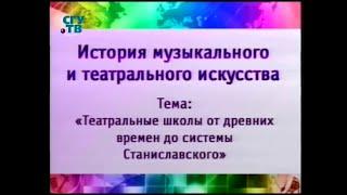 Урок 4. Театральные традиции средневековой Европы. Возникновение русской драматической школы