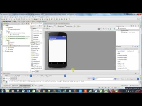 Creating Apk File Using Android Studio