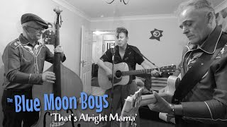 'That's Alright Mama' THE BLUE MOON BOYS (session) BOPFLIX