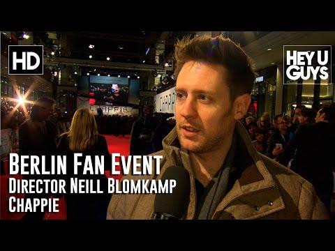 Director Neill Blomkamp Chappie Interview - Berlin Fan Event