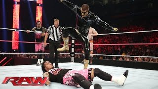 Sheamus & The Usos vs. Damien Mizdow & Gold & Stardust: Raw, Oct. 20, 2014