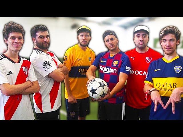 Partido de fútbol CAMPO a CAMPO con Los Displicentes