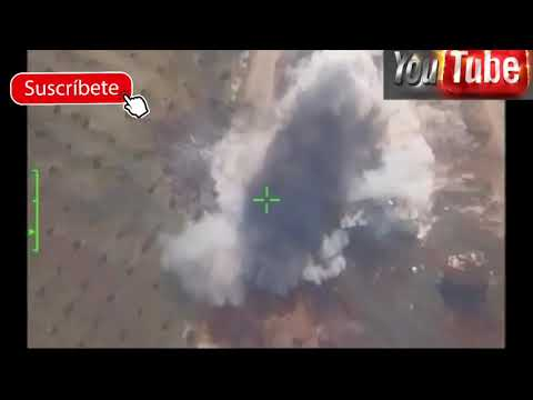 Lo ultimo cazas rusos atacan base siria en poder de estados unidos y sus aliados